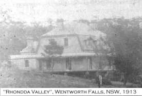 Rhondda Valley, Wentworth Falls, NSW,circa 1913